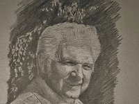 "122  PORTRAIT OF JOHN RAITT PENCIL ON PAPER 24"" X 18"" IN A PRIVATE COLLECTION – LOS ANGELES, CALIFORNIA"